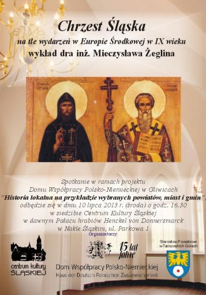 Chrzest Śląska – prelekcja