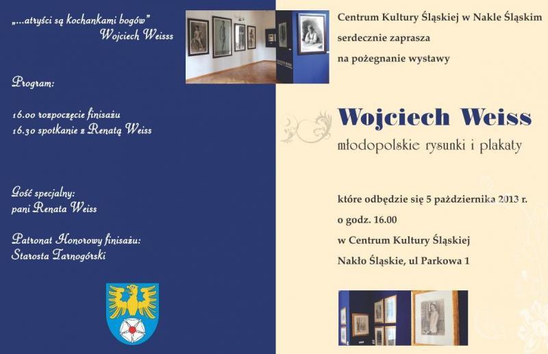 Finisaż wystawy Wojciecha Weissa