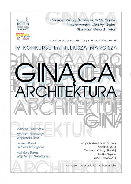 """""""Ginąca architektura"""" – podsumowanie"""