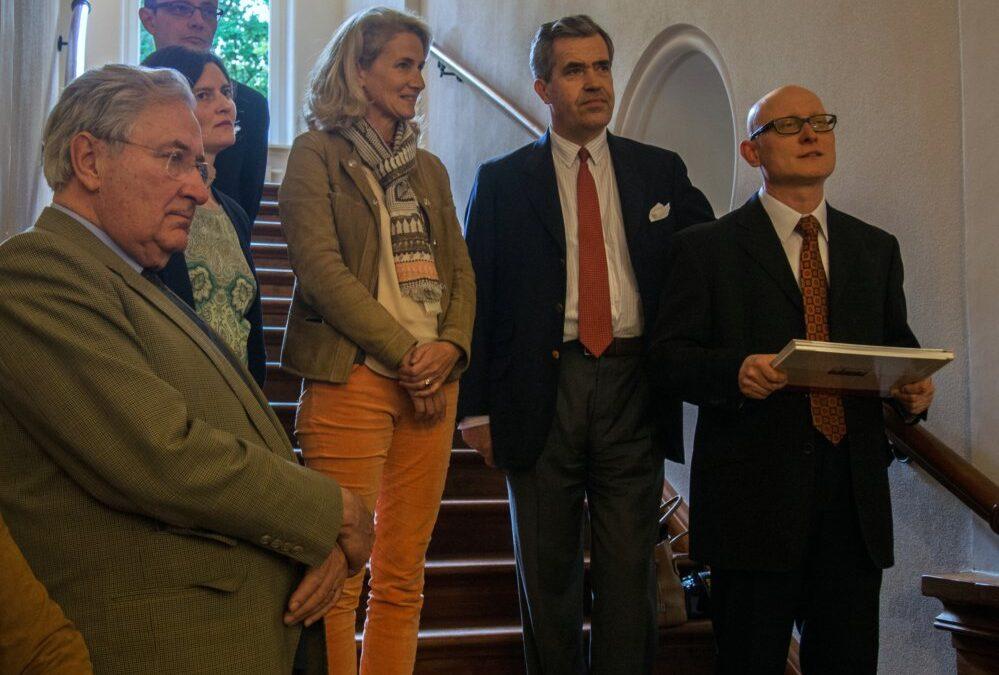 Wizyta rodziny Henckel von Donnersmarck