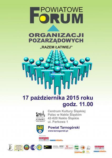 Powiatowe Forum Organizacji Pozarządowych