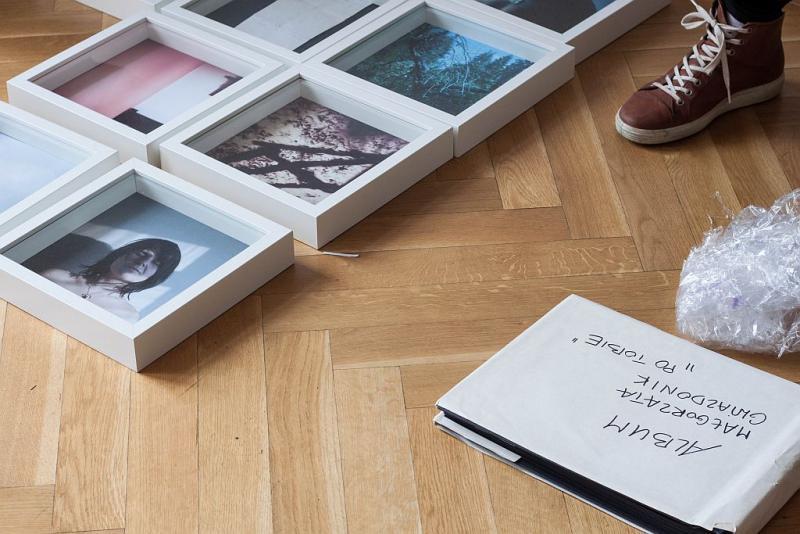 Rozmowy fotograficzne – montaż wystawy