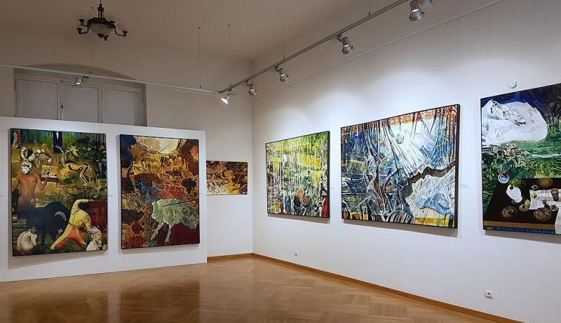 Obrazy mitologizujące – nowa wystawa w Centrum