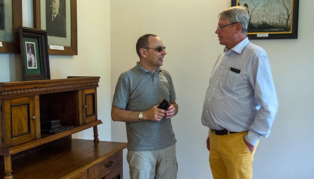 Wizyta hrabiego Schaffgotscha