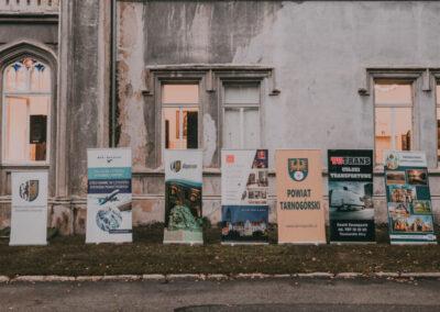 Baner impreza pod patronatem prezydenta Bytomia, GTL, Bytom, Centrum Kultury Ślaskiej, powiat tarnogórski, TGTrans usługi transportowe, Świerklaniec.