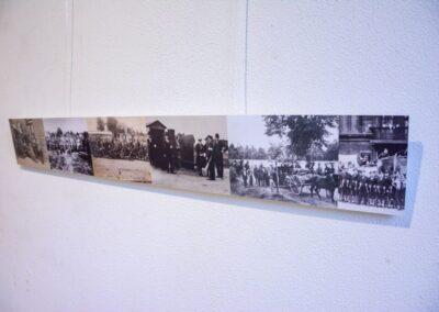 Podłużny kolaż składający się ze starych zdjęć z powstań sląskich.